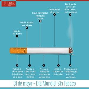 Creatividad Día Mundial Sin Tabaco